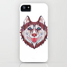 Husky Design iPhone Case