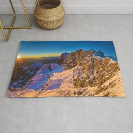 Snowy Mountains Rug