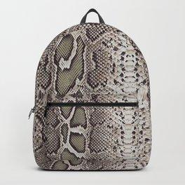 Snake Skin Backpack