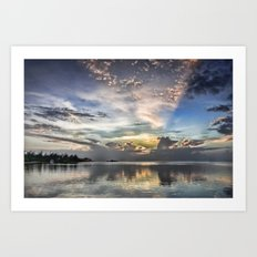 Heaven's Light Art Print