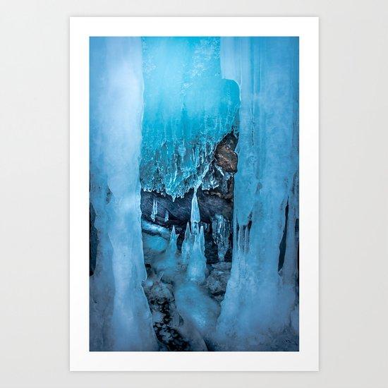 The Ice Palace Art Print