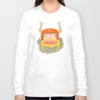 viking Long Sleeve T-shirts featuring Viking  by POWW