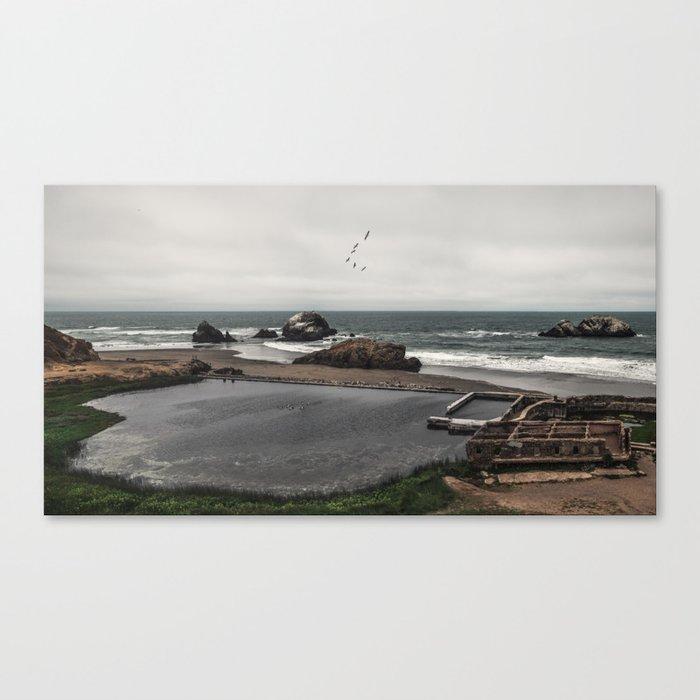 Sutro Baths Ruins Canvas Print