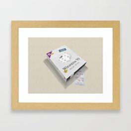 Wikipedia 95 Framed Art Print