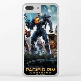 Pacific Rim Uprising 2018 Clear iPhone Case