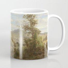 Louis Buvelot - Between Tallarook and Yea (1880) Coffee Mug