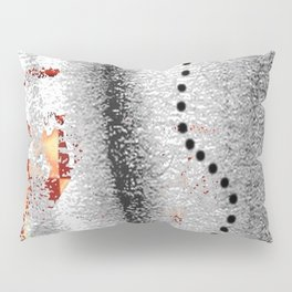 Line of points Pillow Sham