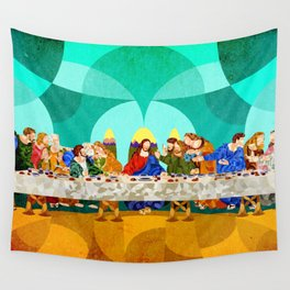 Curves - Last Supper Wall Tapestry