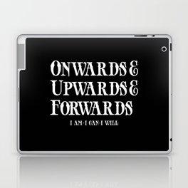 Onwards&Upwards&Forwards. Laptop & iPad Skin