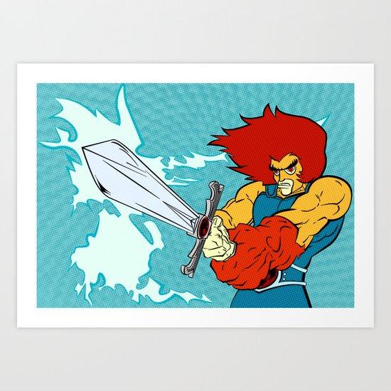 A Call To Arms Art Print