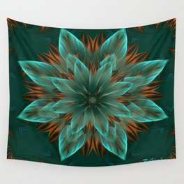 The flower of hope  Wall Tapestry