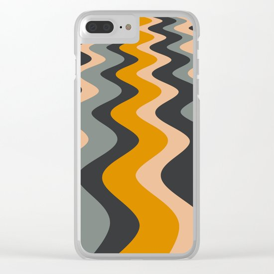 ABSTRACT 10 Clear iPhone Case