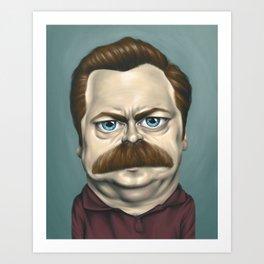 Caricature #15 Art Print