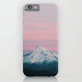 Mount Hood III iPhone Case