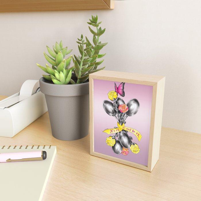 Spoons   ENDOvisible Framed Mini Art Print