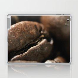 Coffee beans macro photo, fine art, still life, interior decoration, for bar & restaurant, Pub sign Laptop & iPad Skin