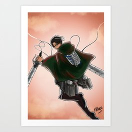 Reluctant heroes Art Print