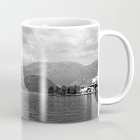 river Mugs featuring River by Shaila