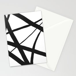 Broken Star Geometric Abstract Stationery Cards