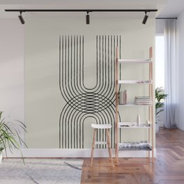 Arch duo 1 Mid century modern Wall Mural