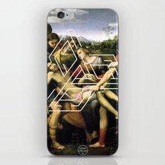Raphael tri iPhone & iPod Skin