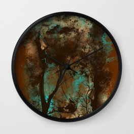 THE LOST FOREST Wall Clock