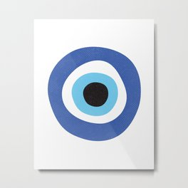 Evi Eye Symbol Metal Print