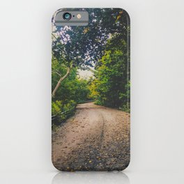 The road to love iPhone Case