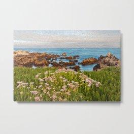 Coastal Painting Metal Print