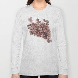 Guns & Flowers Long Sleeve T-shirt
