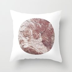Planetary Bodies - Red Rock Throw Pillow