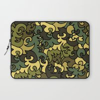 military Laptop Sleeves featuring Military pattern. by Julia Badeeva