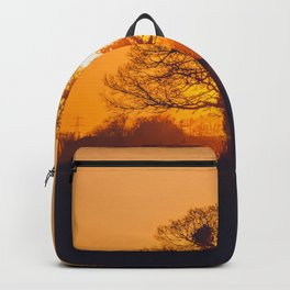 Yellow Sunset Backpack