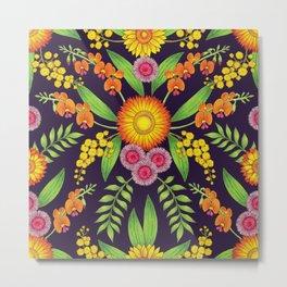 Australian Wildflowers Metal Print
