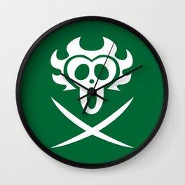 Bartolomeo Pirates Flag Wall Clock