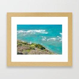 Diamond Head, Hawaii Framed Art Print