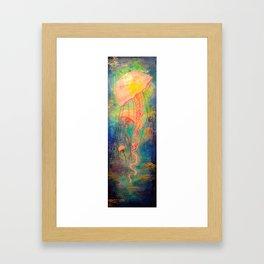 Jellyfish Bliss Framed Art Print