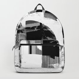 Circle Glitch Backpack