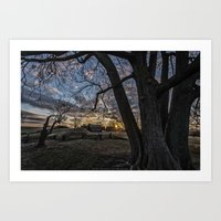It's morning in Valley Forge Art Print