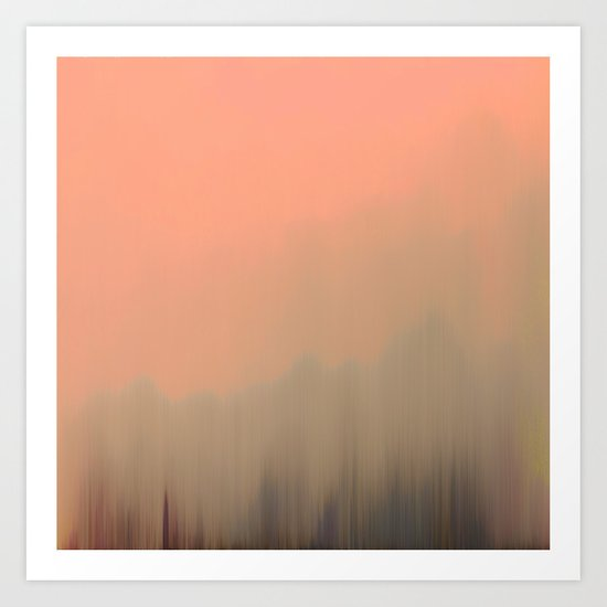 Empty Fog Art Print