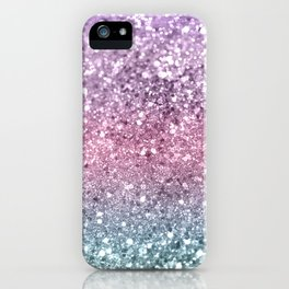 Unicorn Girls Glitter #5 #shiny #pastel #decor #art #society6 iPhone Case