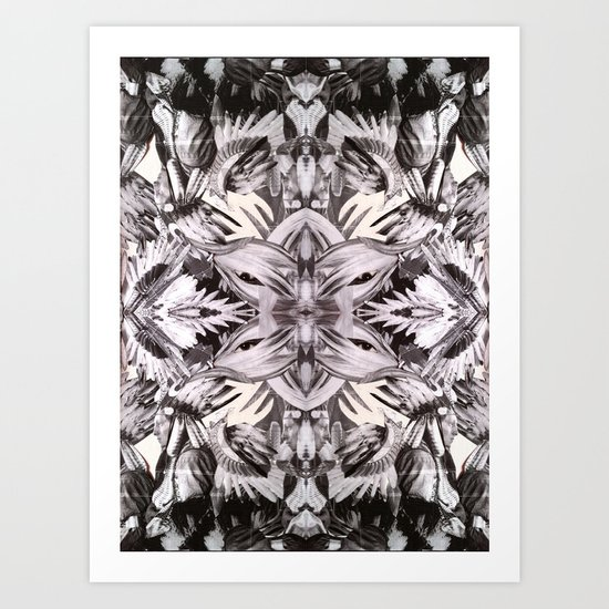 AMERICAN NATIVES KALEIDOSCOPE Art Print
