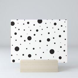 Circles and Dots Mini Art Print