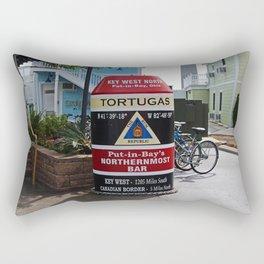 Put-in-Bay's Northernmost Bar- horizontal Rectangular Pillow