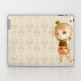 Mini Burger Laptop & iPad Skin