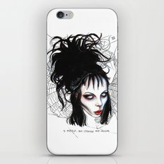 Lydia, Alice, Deetz, Glass iPhone & iPod Skin