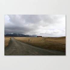 Amazing Landscape in Iceland Canvas Print