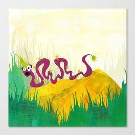 Tufted Slink (Bewundering World of Bewilderbeests) Canvas Print