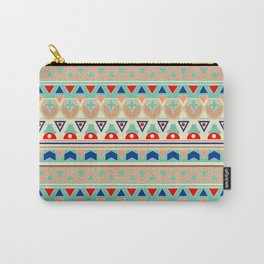 Ethnic ornament , 12 Carry-All Pouch