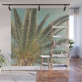 Summer Palm Wall Mural